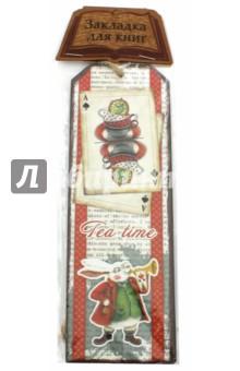 Закладка декоративная для книг Страна чудес (43565) закладка для книг колокольчик