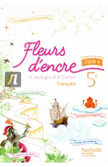 Fleurs d'encre Francais 5e bismarck от hachette продать новосибирск