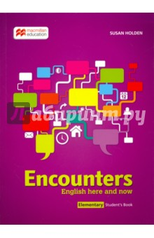 Encounters - English here and now Elementary Student's Book english unlimited elementary coursebook dvd rom