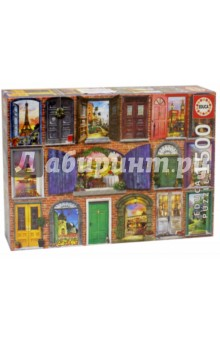 Пазл-1500 Двери Европы (17118) educa пазл пекарня