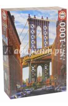 Пазл-1000 Манхэттенский мост, Нью-Йорк (17100) пазл 1000 томас кинкейд мост 57466
