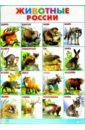 Плакат Животные России (555х774)