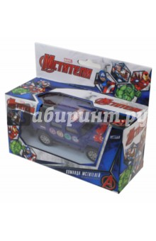Машинка Мстители MARVEL 1:36 (49394) tolo машинка с фигуркой джип сафари tolo