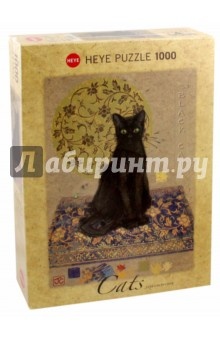 Puzzle-1000 Черный кот (29719) puzzle 1000 сюрприз волк mordillo classics 29171