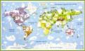 Карта-раскраска наст. Карта мира Животные (GT1819)