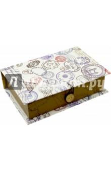 Коробка подарочная ШТАМП (42366) коробка подарочная феникс презент восточный калейдоскоп 16 6 х 7 6 х 1 см
