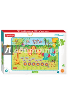 Мозаика puzzle 35 MAXI Fisher Price (91224) step puzzle пазл для малышей fisher price 91148