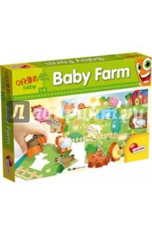 Настольная игра Ферма. Обучающий пазл с 3D-фигурками