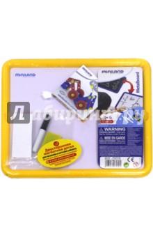 Магнитно-маркерная доска (97929) магнитная маркерная белая доска 1500х1000 в тюмени