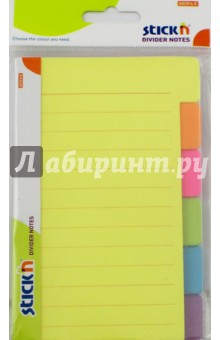 Блок для записи самоклеящийся Magic (60 листов, 98x148мм, неон 6 цветов) (21460) блок для записи самоклеящийся inblooom 100 листов 4 цвета с рисунком 28074