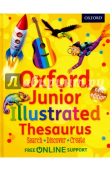 Oxford Junior Illustrated Thesaurus Hardcover key words 2c i like to write