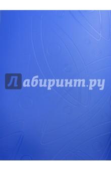 Папка Galaxy (20 прозрачных вкладышей, A4, синяя) (GA20BLUE) папка с 40 прозр вклад бюрократ crystal cr40or a4 пластик 0 5мм оранжевый
