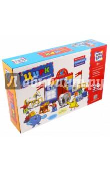 Купить Конструктор развивающий Цирк (65671), KriBly Boo, Конструкторы из пластмассы и мягкого пластика