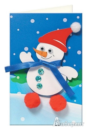 Иллюстрация 1 из 3 для Снеговик (АБ 23-502)   Лабиринт - игрушки. Источник: Лабиринт