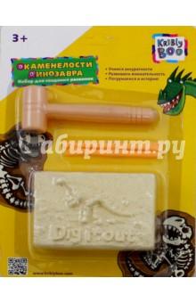 Купить Набор для создания раскопок Окаменелости динозавра (65668), KriBly Boo, Наборы для опытов