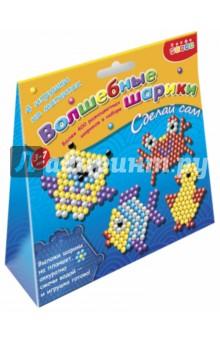 Игрушки на магнитах. Волшебные шарики Сова, утенок, рыбка (3089)