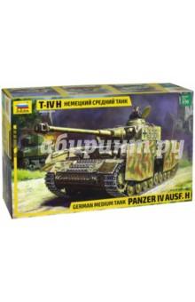 """Сборная модель """"Немецкий средний танк Т- IV H"""", 1/35 (3620)"""