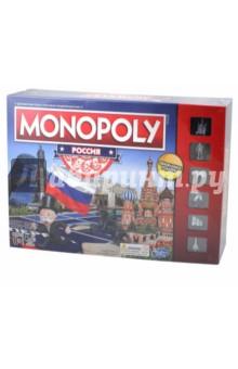 Купить Игра Монополия. Россия (Новая уникальная версия) (B7512), Hasbro, Бизнес-игры