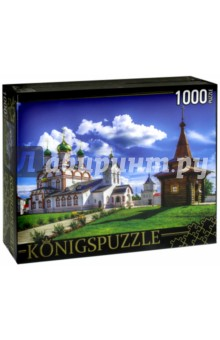 """Puzzle-1000 """"Россия. Ростов Великий"""" (ГИК1000-6518) Konigspuzzle"""