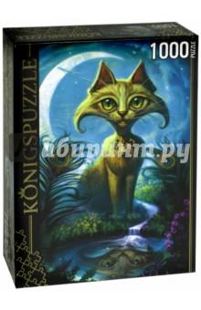 Puzzle-1000 Джефф Хейни. Кот и отражение (АЛК1000-6520) puzzle 1000 сюрприз волк mordillo classics 29171