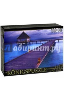 Puzzle-1000 Райские Мальдивы (КБК1000-6501) puzzle 1000 сюрприз волк mordillo classics 29171