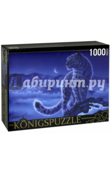 Puzzle-1000 Снежные барсы (МГК1000-6477) puzzle 1000 медведи на рыбалке мгк1000 6471 page 4