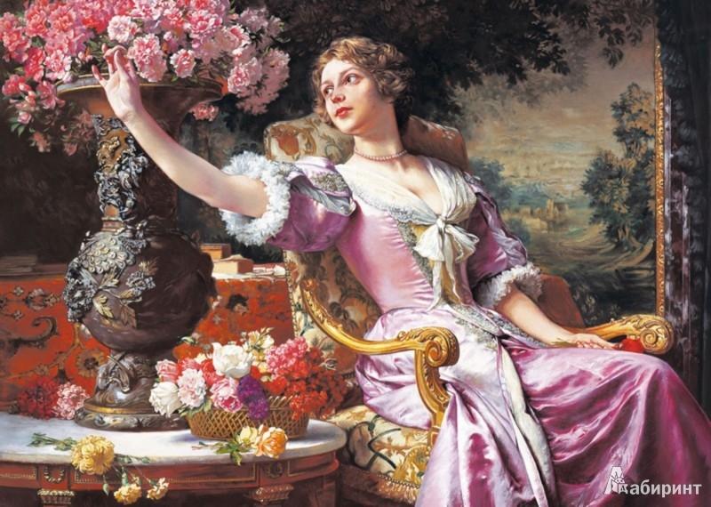 Иллюстрация 1 из 15 для Puzzle-3000. Женщина с цветами (С-300020) | Лабиринт - игрушки. Источник: Лабиринт