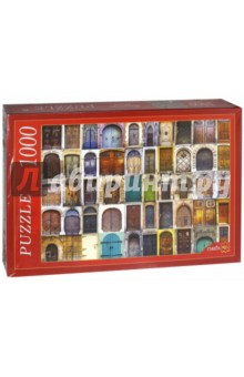 Puzzle-1000. Множество дверей (КБ1000-6837) пазлы crystal puzzle 3d головоломка вулкан 40 деталей