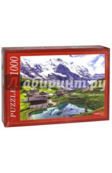 Купить Puzzle-1000. Дома у подножия гор (КБ1000-6839), Рыжий Кот, Пазлы (1000 элементов)