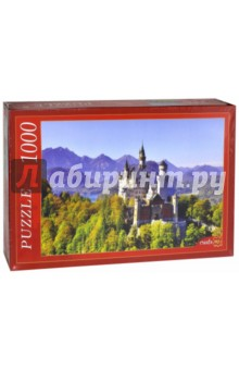 Puzzle-1000 Замок Нойшванштайн (КБ1000-6868) пазлы crystal puzzle 3d головоломка вулкан 40 деталей