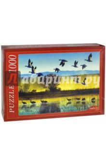 Puzzle-1000. Стая птиц (КБ1000-6874) пазлы crystal puzzle 3d головоломка вулкан 40 деталей