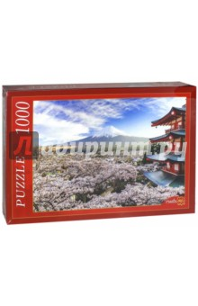 Puzzle-1000. Цветущая сакура (КБ1000-6880) пазлы crystal puzzle 3d головоломка вулкан 40 деталей