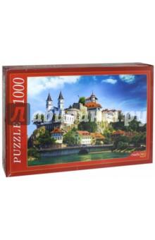 Puzzle-1000. Замок в Швейцарии (РК1000-7791) пазлы crystal puzzle 3d головоломка вулкан 40 деталей