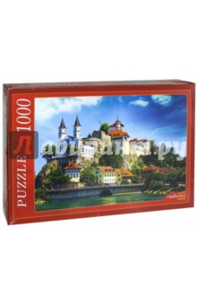 Puzzle-1000. Замок в Швейцарии (РК1000-7791) puzzle 1000 замок simon mardsen 29563