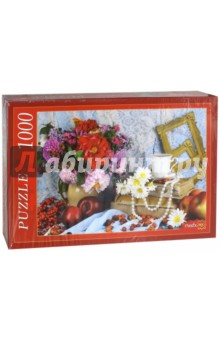 Puzzle-1000. Натюрморт (РК1000-7807) пазлы crystal puzzle 3d головоломка вулкан 40 деталей