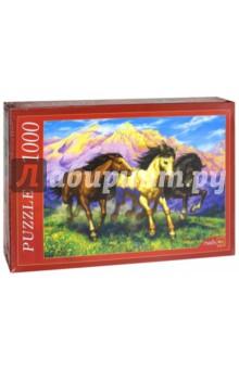 Puzzle-1000. Резвые лошади (Ф1000-7815) пазлы crystal puzzle 3d головоломка вулкан 40 деталей