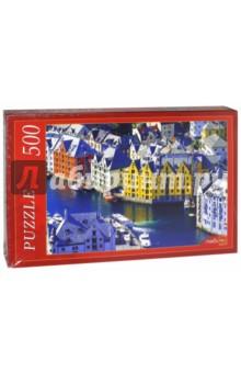 Puzzle-500. Норвегия. Олесунн (КБ500-7922) puzzle 500 яркие совы alpz500 7701