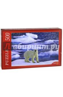 Puzzle-500. Белый медведь на льдине (КБ500-7935) puzzle 500 белый котенок 29626