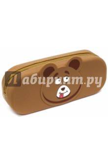 """Пенал школьный """"Мишка"""" (силикон) (43816) Феникс+"""