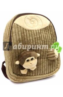 Рюкзак детский Обезьянка (вельвет) (43453) fancy сумка рюкзак детская обезьянка