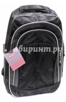 Купить Рюкзак молодежный Черный+серый (44392), Феникс+, Рюкзаки школьные