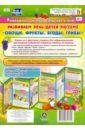 Развиваем речь детей 5-7 лет по лексической теме «Овощи, фрукты, ягоды, грибы». Ширмы с информацией, Штангруд Оксана Алексеевна