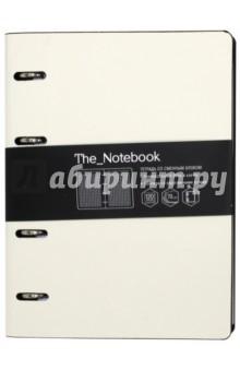 Тетрадь общая на кольцах The Notebook (120 листов, белый) (ПБИ1204442) тетрадь со сменным блоком 120 листов клетка blue 83329