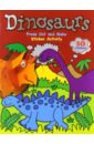 Taylor Dereen Dinosaurs. Sticker Activity book. Press Out and Make
