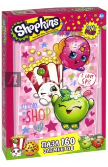 Shopkins. Пазл-160 I love SPK (02763) lightstar ampollo 786102