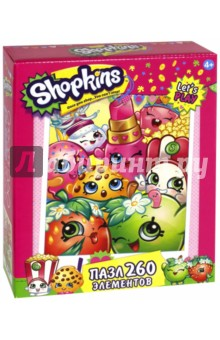 Shopkins. Пазл-260 Селфи (02771)