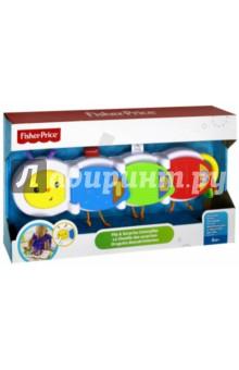 Купить Гусеница с сюрпризом Fisher-Price (DHW14), Fisher Price, Другие игрушки для малышей