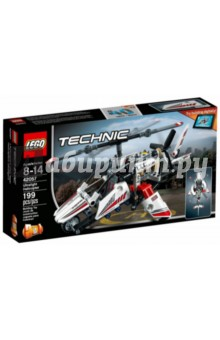 Конструктор LEGO Technic. Вертолёт сверхлёгкий (42057) lego technic конструктор рекордсмен