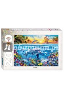 Puzzle-2000. Дельфины (84032) puzzle 2000 рододендроны adamus 29662