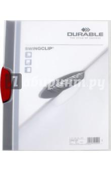 Папка с фигурным клипом Swingclip (А4, красный) (226003) ручка шариковая planes с фигурным клипом